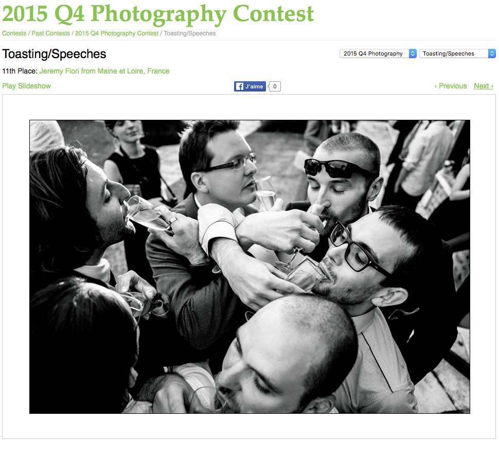 WPJA award Jeremy Fiori Wedding photogapher