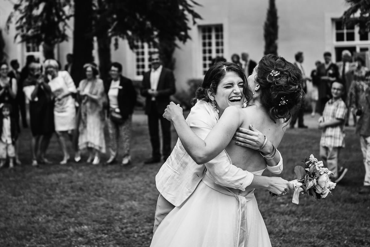 lancé bouquet mariage mariée jeremy Fiori wedding photographer