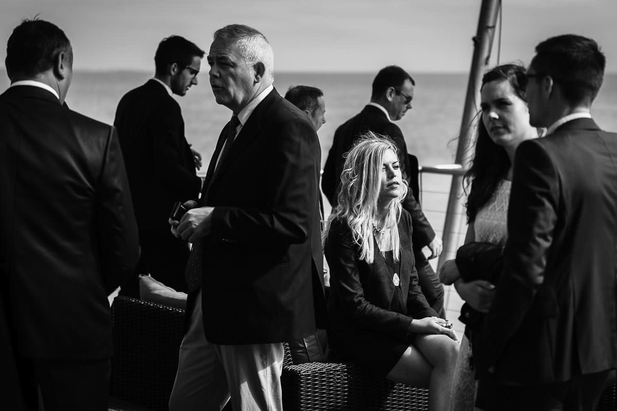 cocktail mariage wedding Noirmoutier sunlight Jeremy Fiori wedding photographer