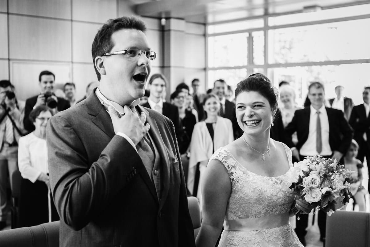 cérémonie civile mariage marié drole fun cool Jérémy Fiori