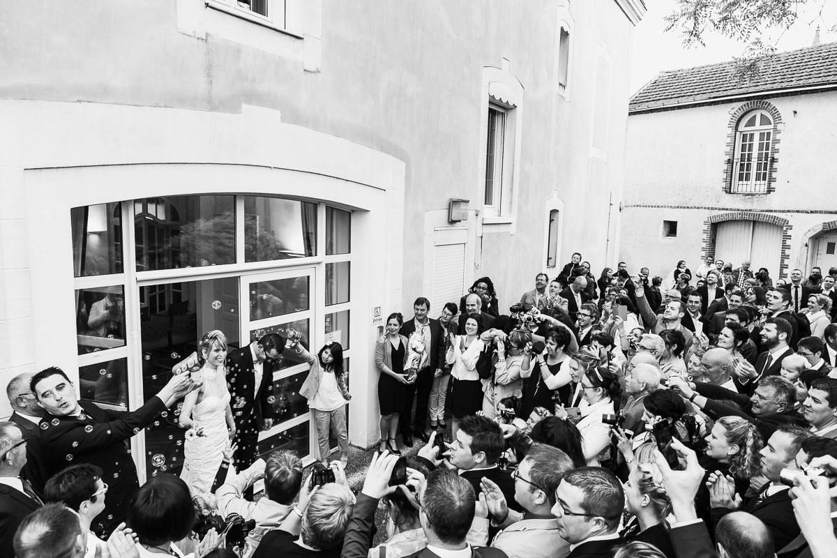 Cérémonie civile mairie Maine et Loire Jeremy Fiori photographe mariage