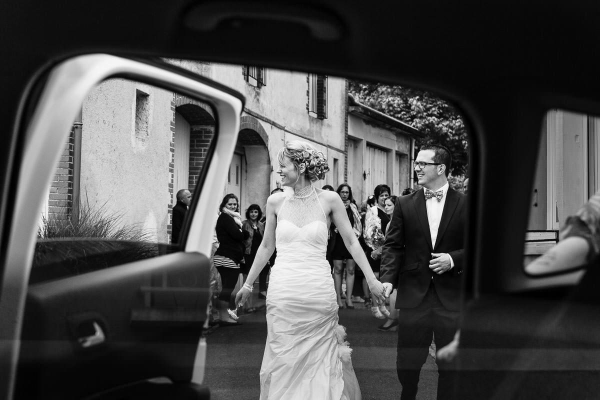 Portrait couple mariés mariage Jeremy Fiori Photographe