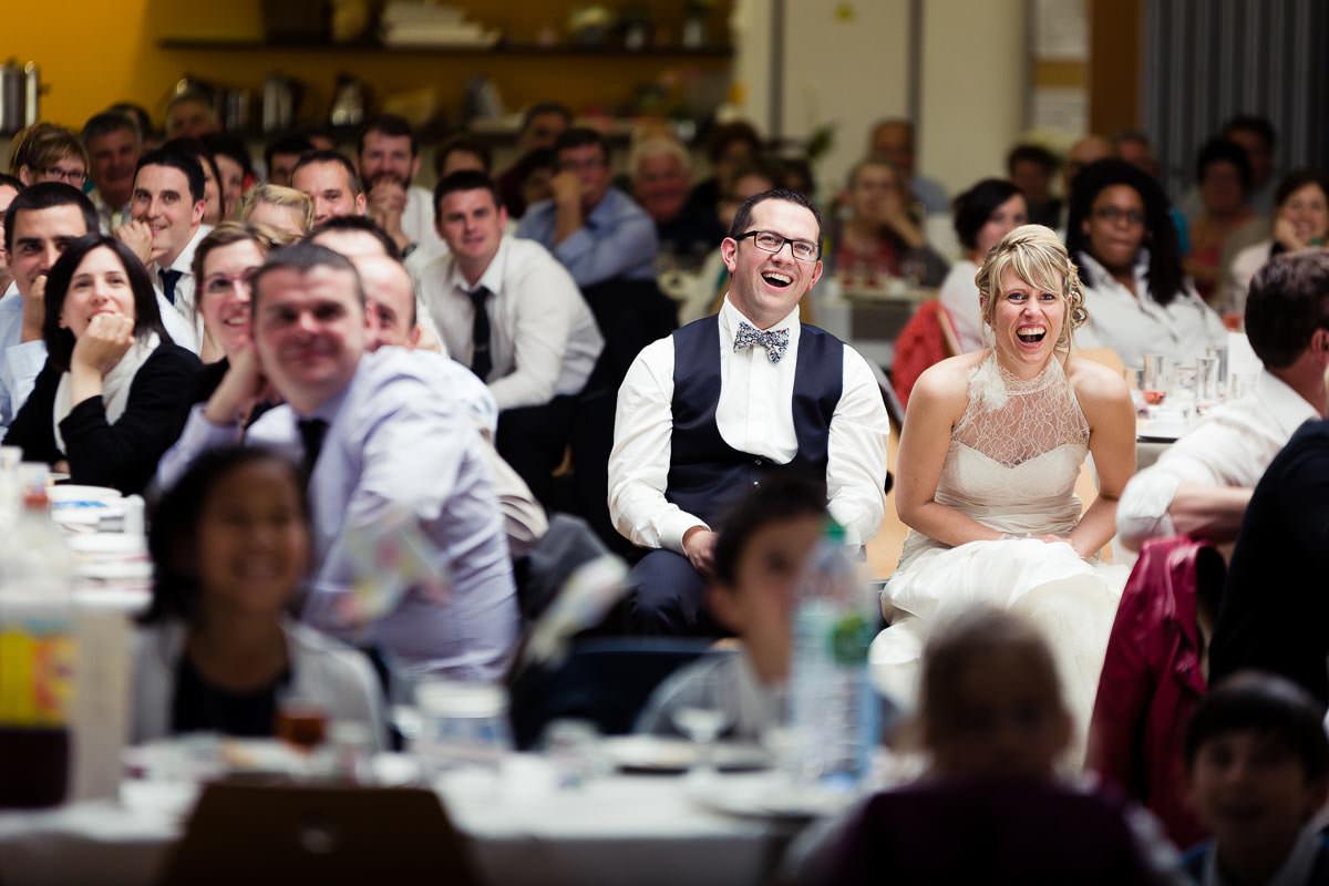 Diner mariage mariés rire humour tendresse jérémy Fiori