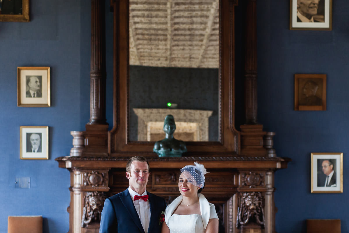 Wedding at Angers' townhall - Jeremy Fiori photography