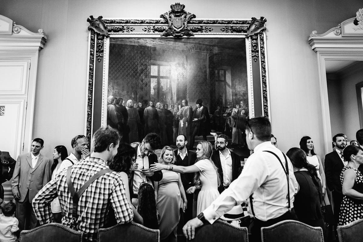 Salle des mariages de la mairie d'Angers Jérémy Fiori