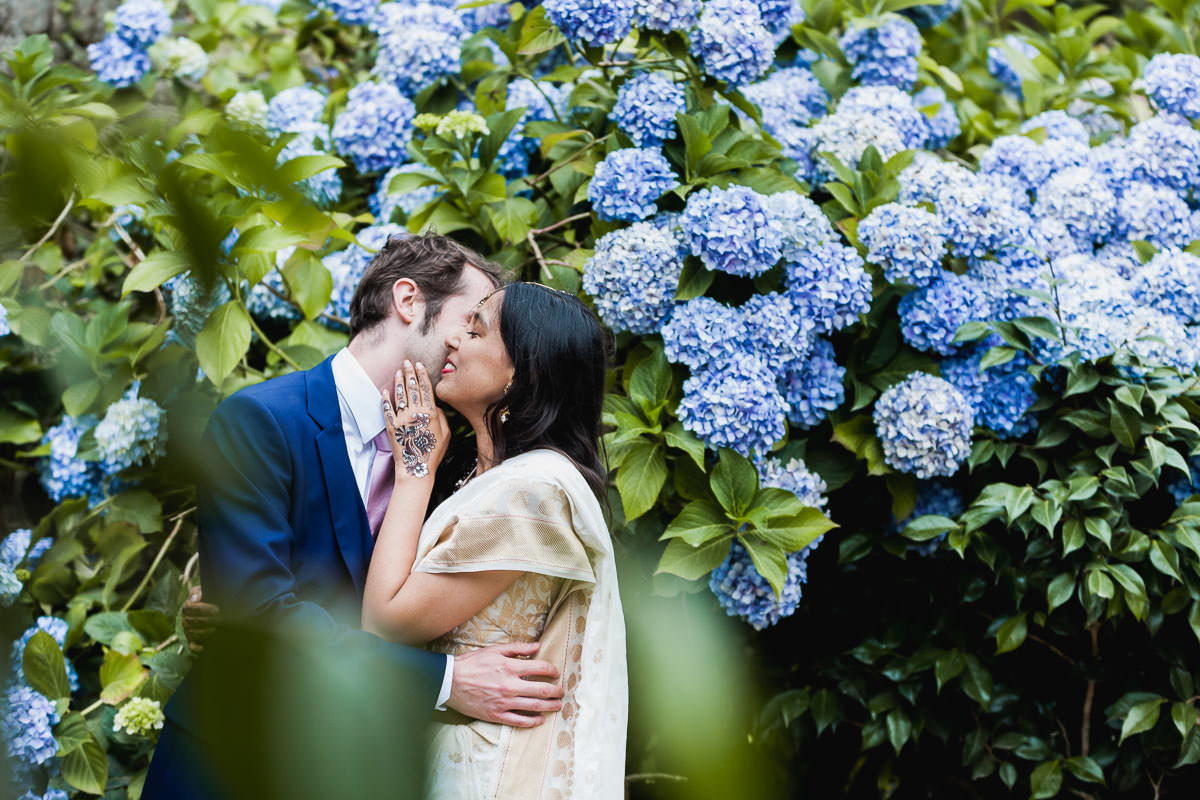 Couple wedding portrait session at manoir de Rendrécard - photography by Jeremy Fiori French wedding photographer