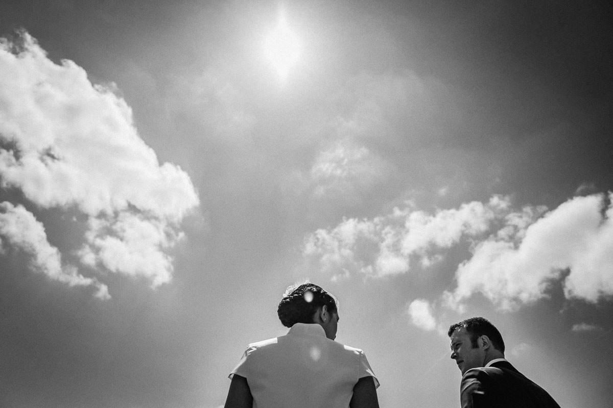Photo de couple marié mariage Jérémy Fiori photographe à Angers