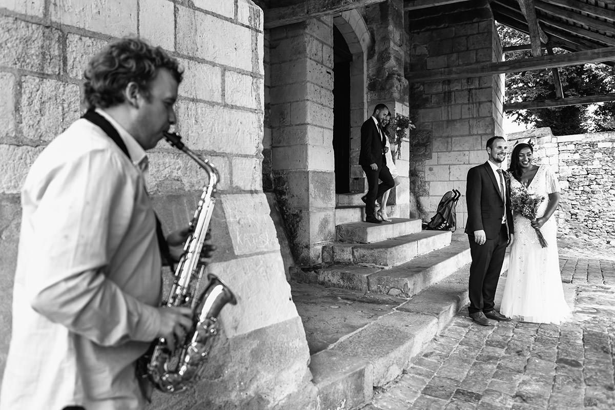 Sortie église en musique - © Jeremy Fiori