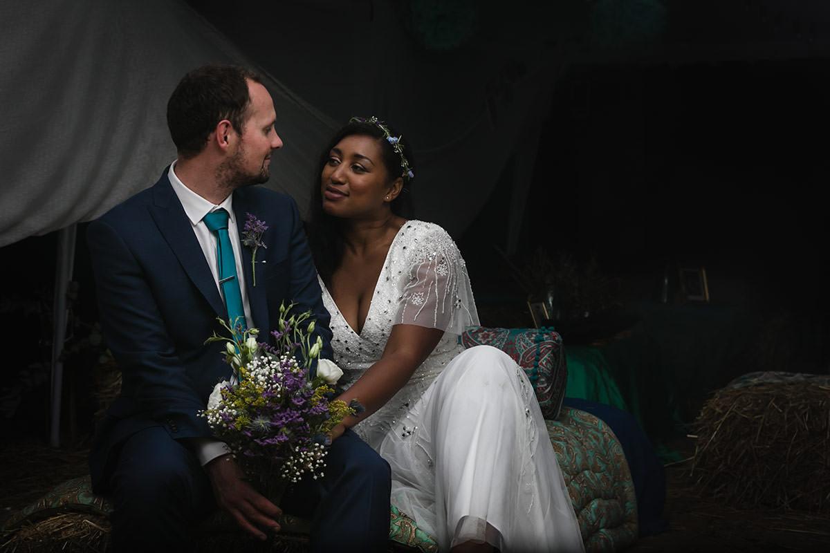 Portrait de mariés - © Jeremy Fiori