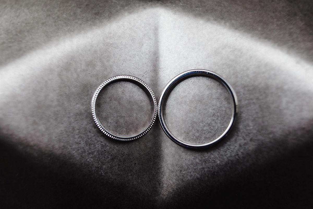 Alliances de mariage © Jérémy Fiori photographe angers