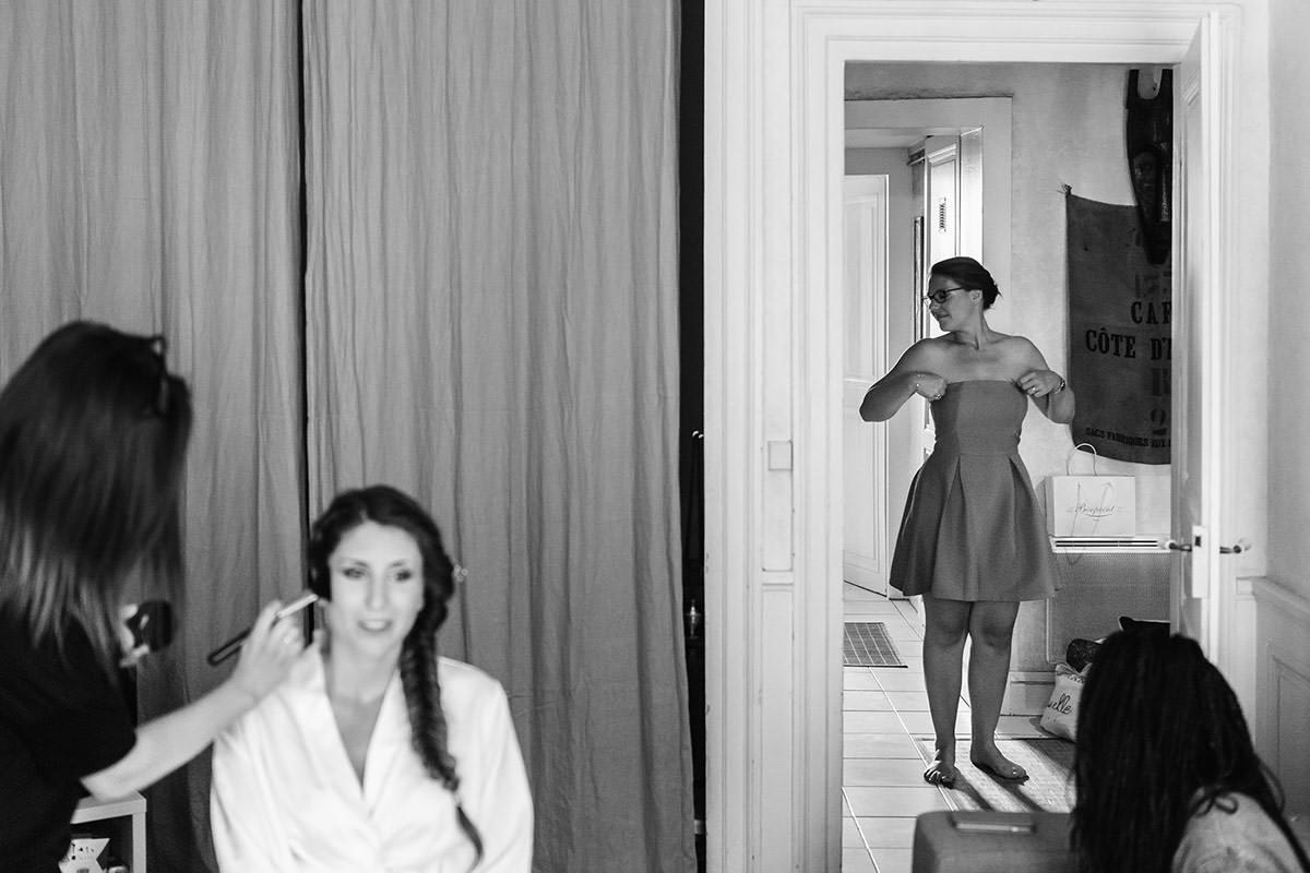 préparatifs de la mariée © Jérémy Fiori photographe angers
