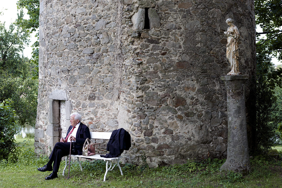 grand-père au chateau de chassagny © Jérémy Fiori photographe angers