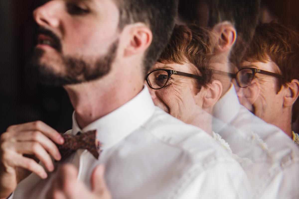 Complicité marié et maman © Jérémy Fiori photographe de mariage a angers