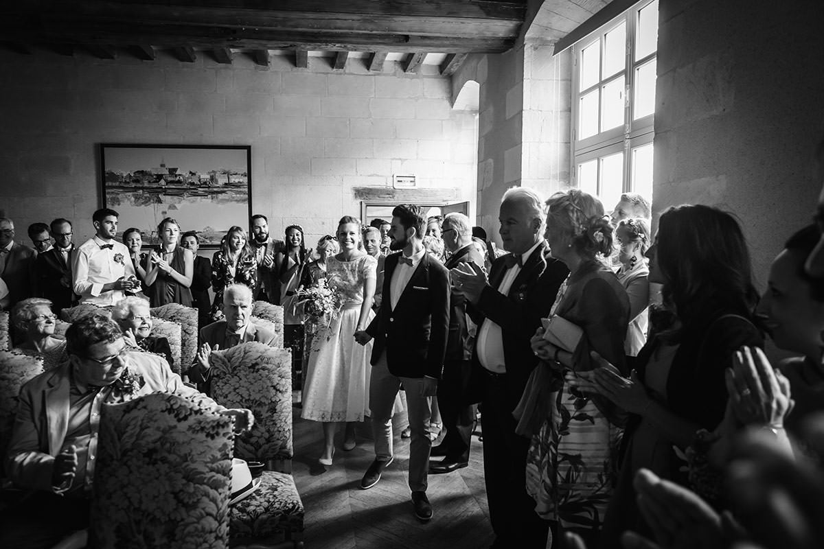 Entrée mairie Bouchemaine © Jérémy Fiori photographe de mariage a angers