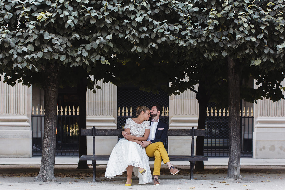 Palais Royal © Jérémy Fiori photographe de mariage Paris