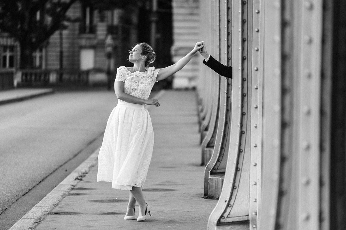Mariés Bir Hakeim © Jérémy Fiori photographe de mariage Paris