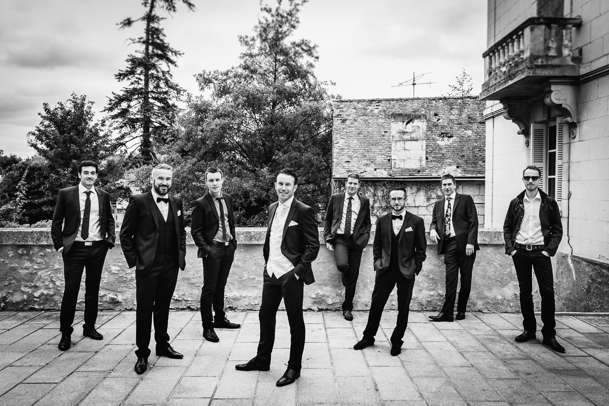 Jeremy Fiori French Wedding photographer Loire Valley