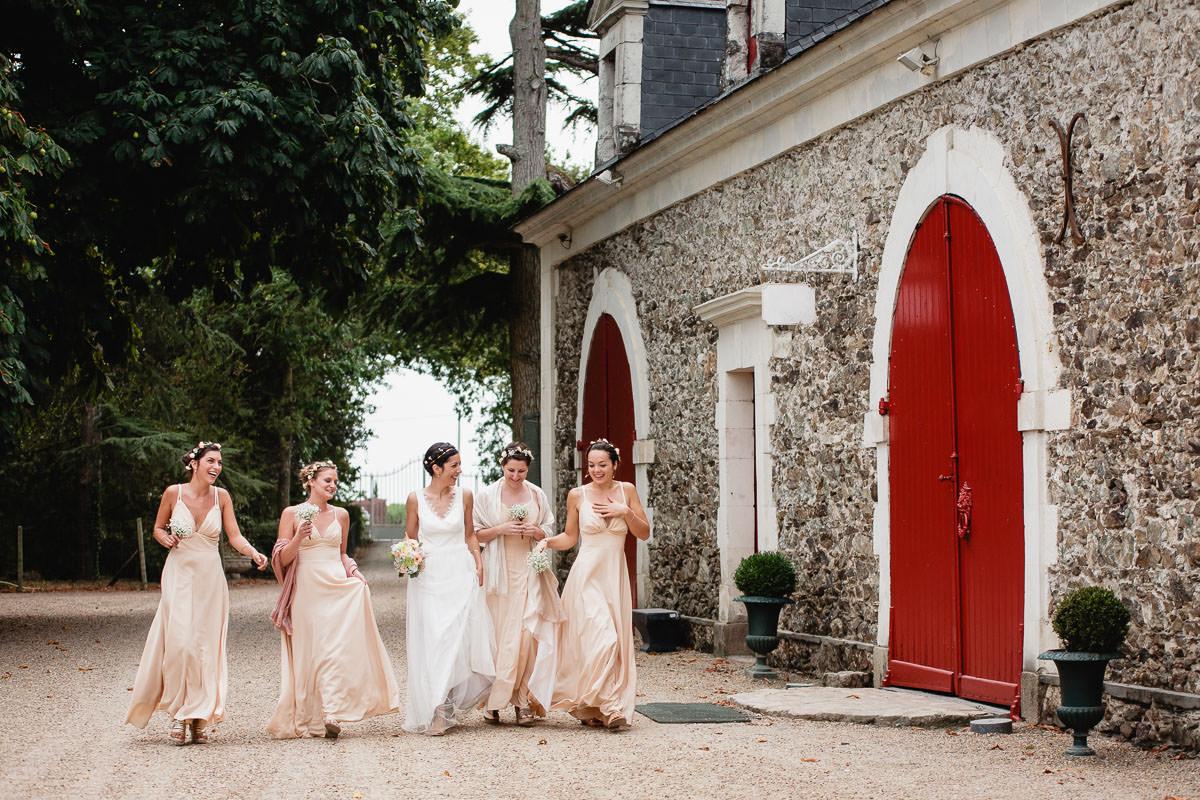 mariage au château de l'Eperonnière par Jérémy Fiori