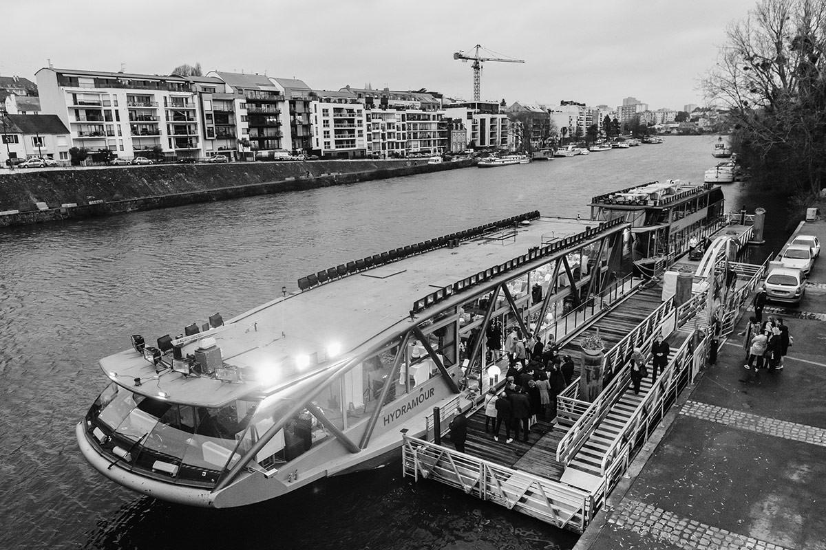 mariage sur les bateaux nantais par Jérémy Fiori