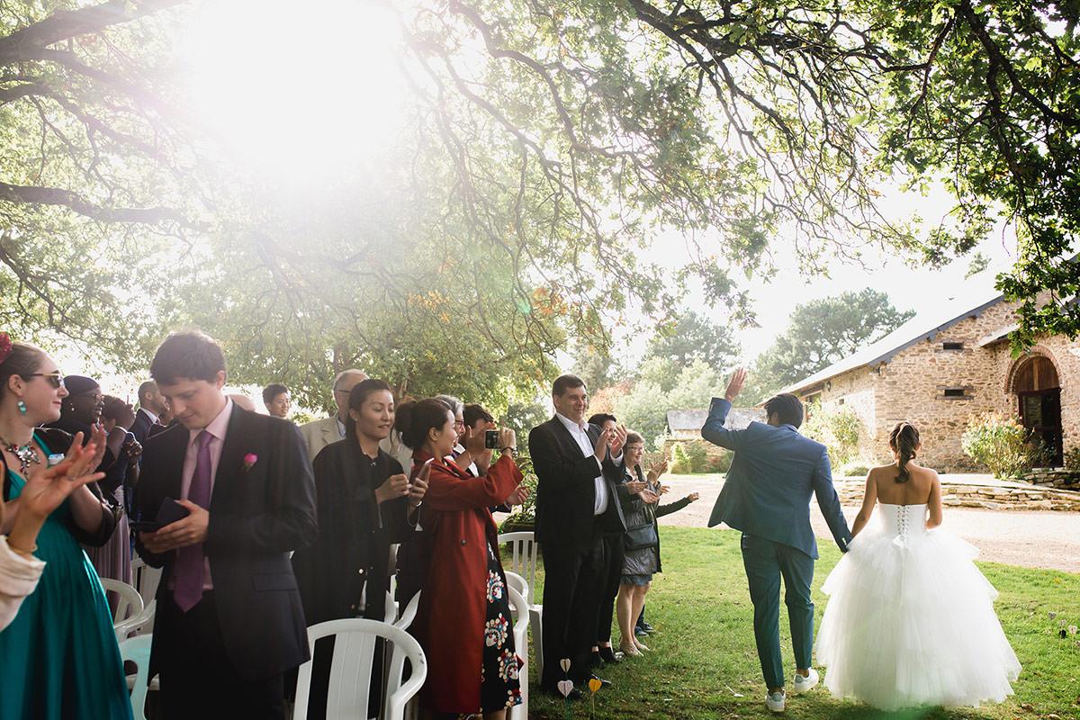 mariage au domaine du bois d'Andigné par Jérémy Fiori