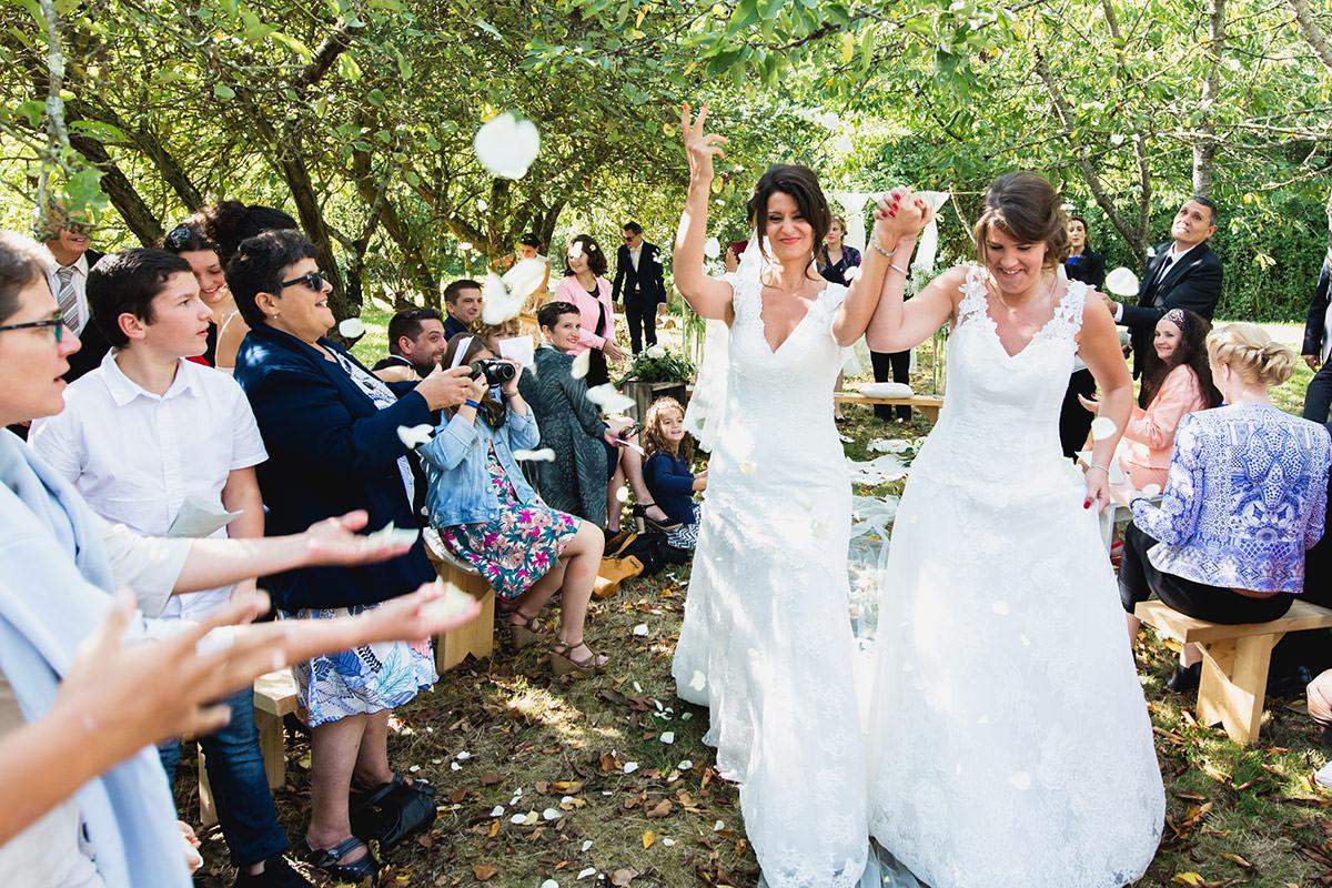mariage au gîte de la douce vie par Jérémy Fiori