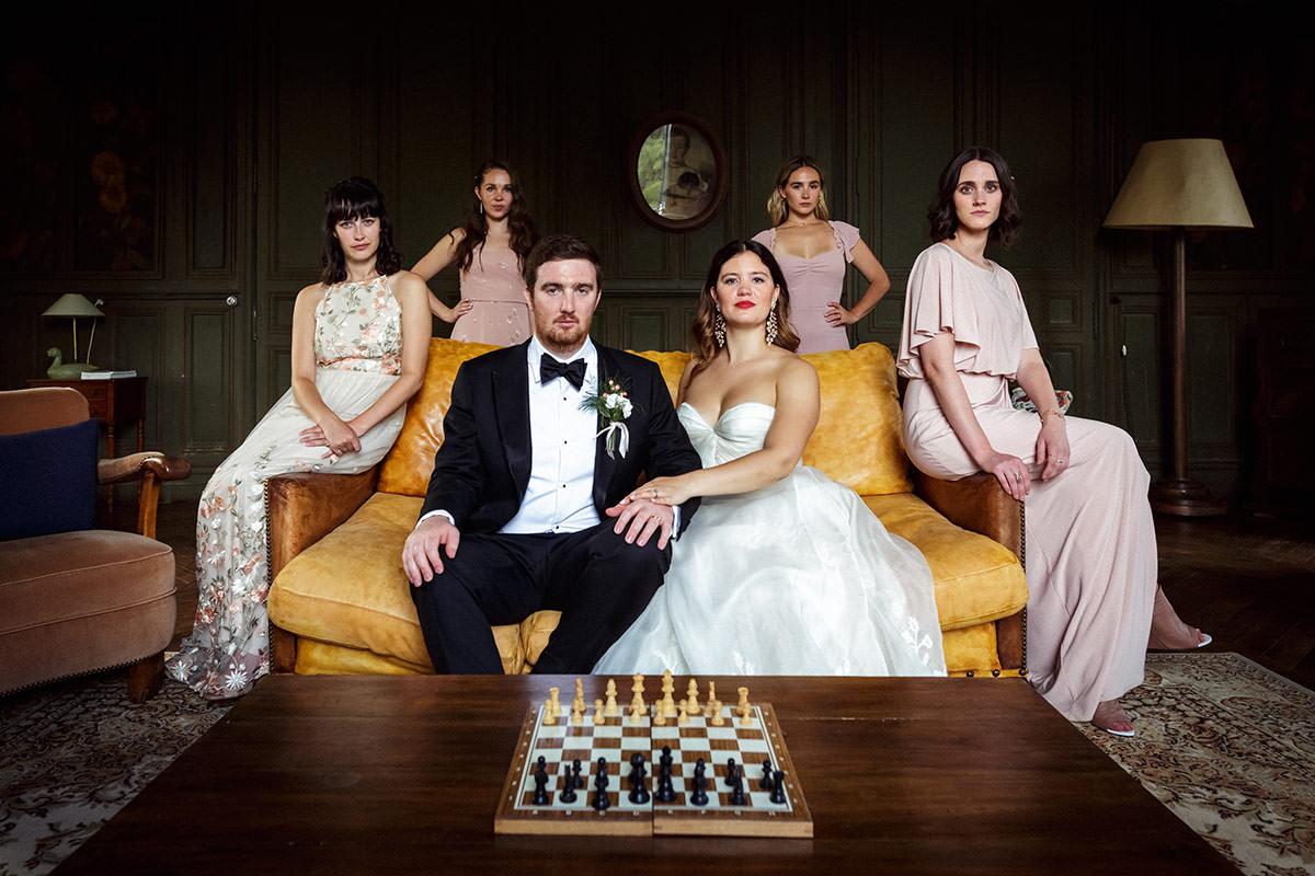 Un mariage au château du Pin près d'Angers - Photo : Jérémy Fiori photographe de mariage à Angers