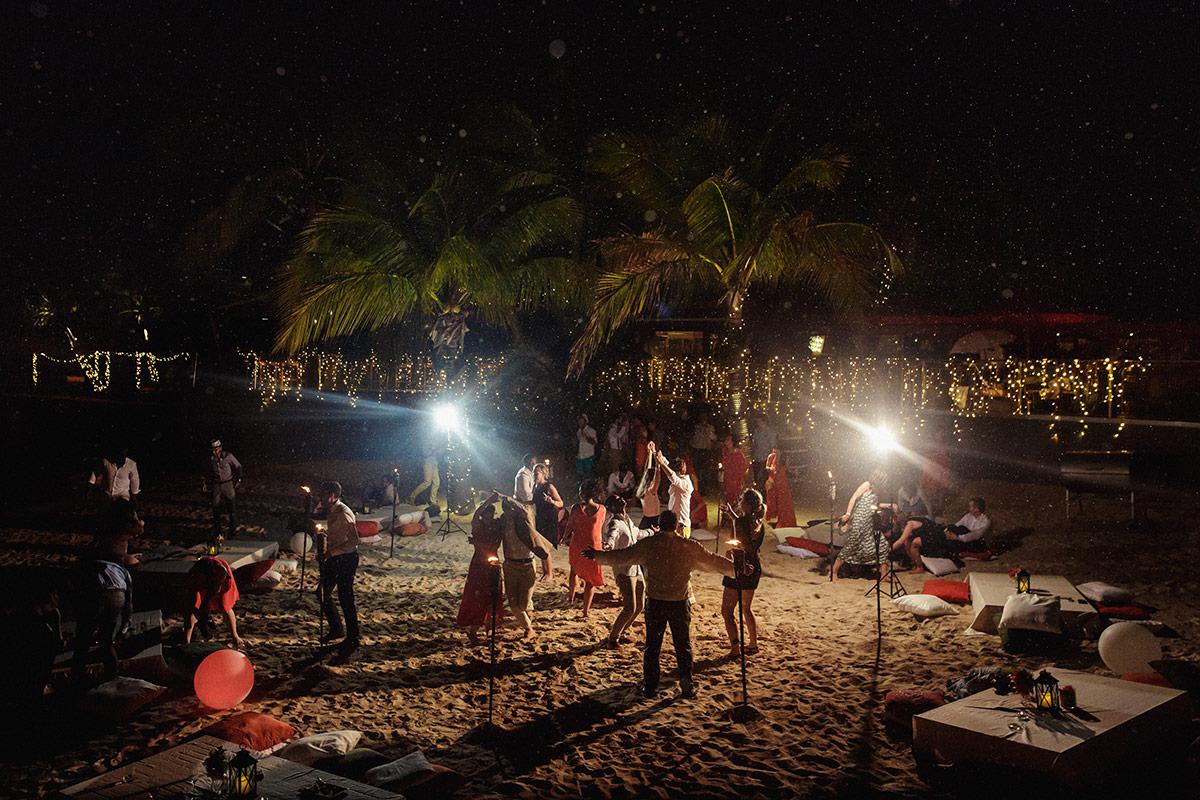 Un mariage à l'hôtel La Toubana en Guadeloupe - Photo : Jérémy Fiori photographe de mariage à Angers