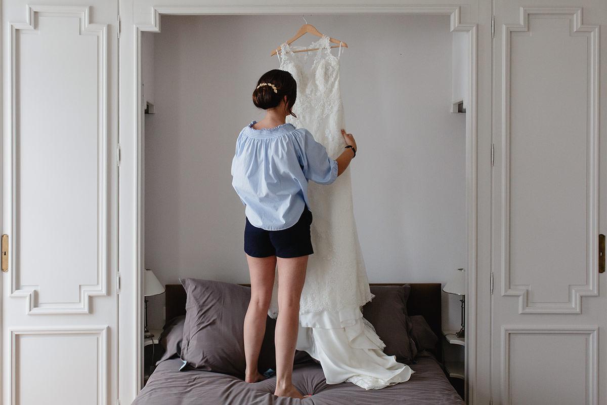Un mariage au château du Breuil près d'Angers - Photo : Jérémy Fiori photographe de mariage à Angers