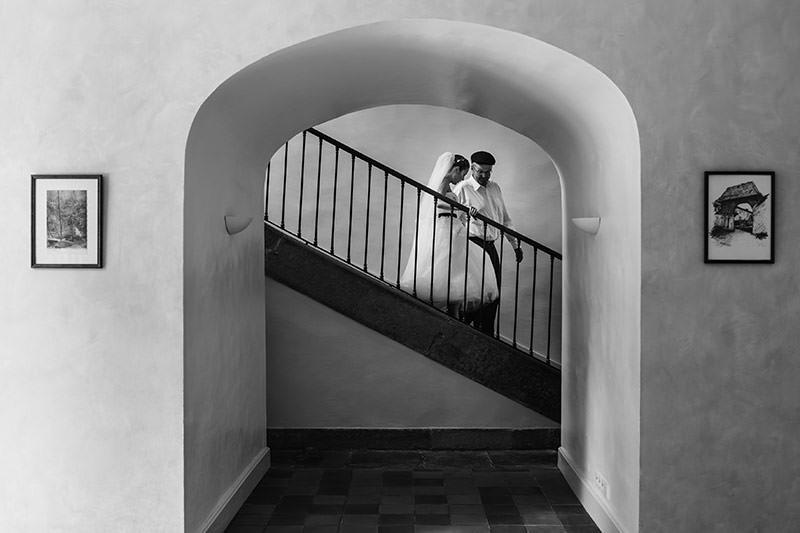 Un mariage au château de Césarges en Isère - Photo : Jérémy Fiori photographe de mariage à Angers