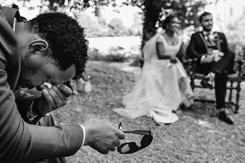 Un mariage au château du Plessis Bourré près d'Angers - Photo : Jérémy Fiori photographe de mariage à Angers