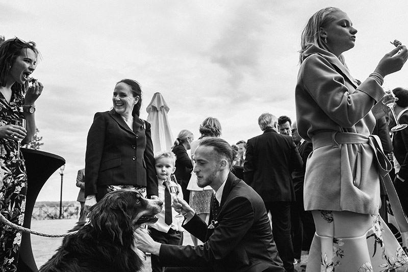 Un mariage au château de la Soucherie près d'Angers - Photo : Jérémy Fiori photographe de mariage à Angers